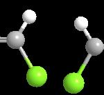 Isómeros cis y trans de dicloroeteno